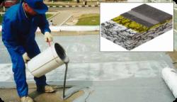 Самые распространенные материалы для гидроизоляции крыши.